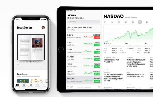 Mit iOS 12 aktualisiert Apple zahlreiche hauseigene Apps. (Bild: Apple)