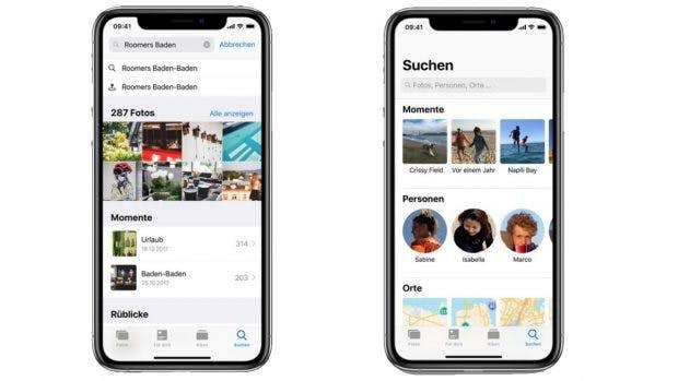 iOS 12: Mehr Kontrolle und Spaß mit euren Fotos. (Bild. Apple)