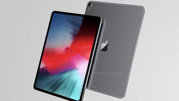 So könnte das neue iPad Pro mit Face-ID aussehen. (Renderbild: Mysmartprice)