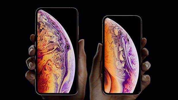 iPhone Xs und iPhone Xs Max. (Screenshot: t3n)
