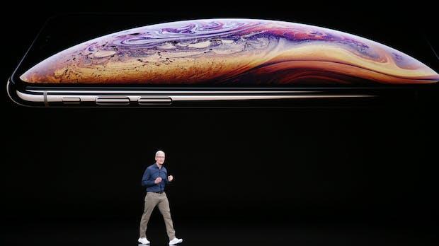Marktanteil von 88 Prozent: Apple beherrscht das Segment der Luxus-Smartphones