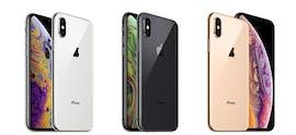 Alle Farben des iPhone Xs (Max) im Überblick. (Bild: Apple)