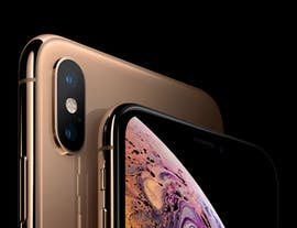 iPhone Xs in Gold. (Bild: Apple)