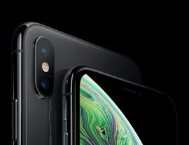 iPhone Xs in Grau. (Bild: Apple)