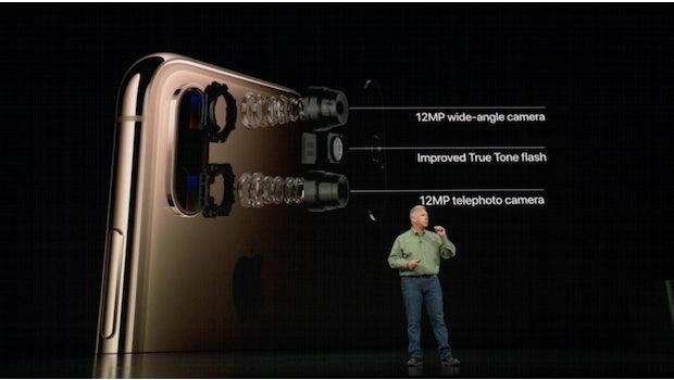 Im iPhone Xs und Max steckt eine neue 12-MP-Dual-Kamera. (Screenshot: t3n)