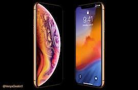So wird das iPhone Xs aussehen. (Bild: Venja Geskin)