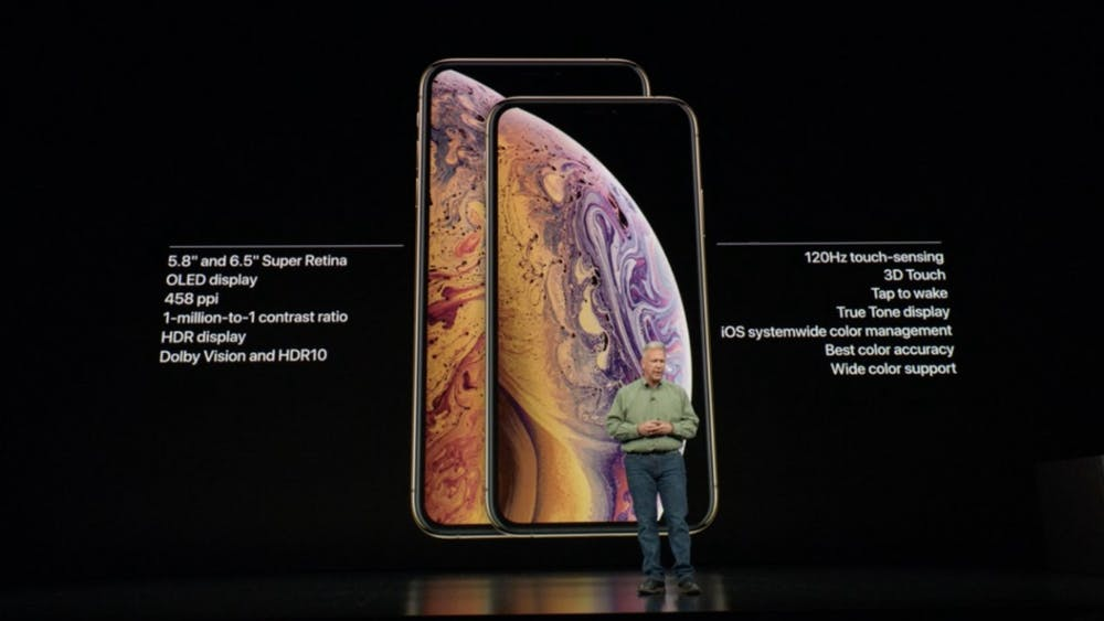iPhone Xs vs iPhone Xs Max. (Screenshot. t3n.de)