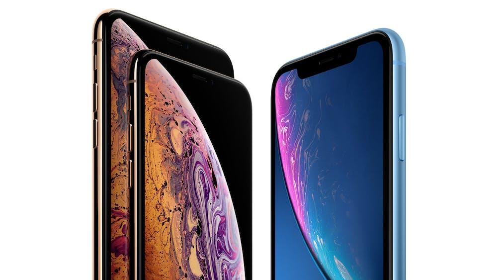 Die 2018er iPhone-Familie. (Bild: Apple)