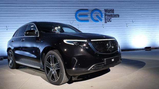 Mercedes EQC: Daimlers erster vollvernetzter Stromer ist offiziell