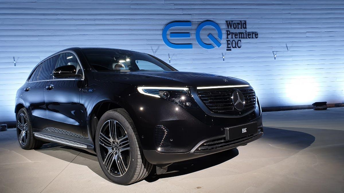 Fehlende Batterien: Daimler dementiert Halbierung des Absatzziels für den E-SUV EQC
