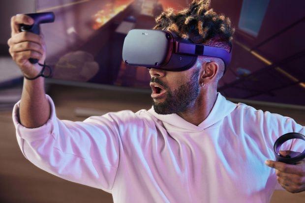 Facebooks Oculus Quest ist eine Standalone-VR-Brille. (Foto: Facebook)
