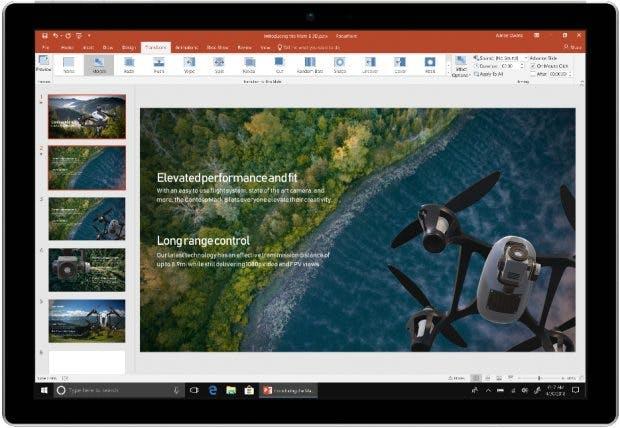 Microsoft: Office 2019 vereint viele Funktionen, die Office-365-Abonnenten schon seit geraumer Zeit kennen. (Grafik: Microsoft)