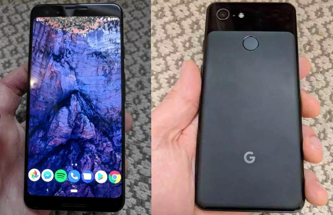 """Das ist das """"kleine"""" Google Pixel 3. (Foto: Imgur)"""