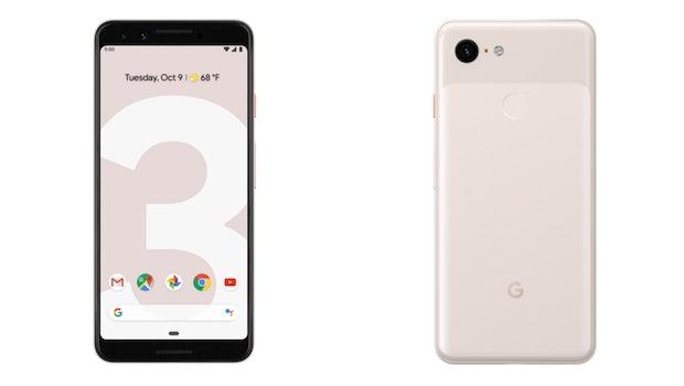 Das Google Pixel 3 in der Farbe Not Pink. (Bild: Google)