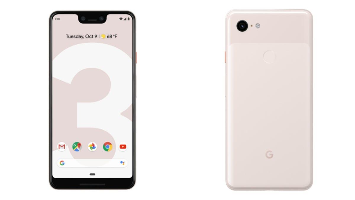 Das Google Pixel 3 XL in der Farbe Not Pink. (Bild: Google)