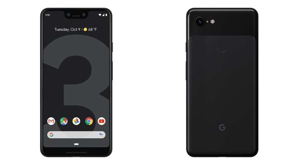 Das Google Pixel 3 XL in der Farbe Just Black. (Bild: Google)