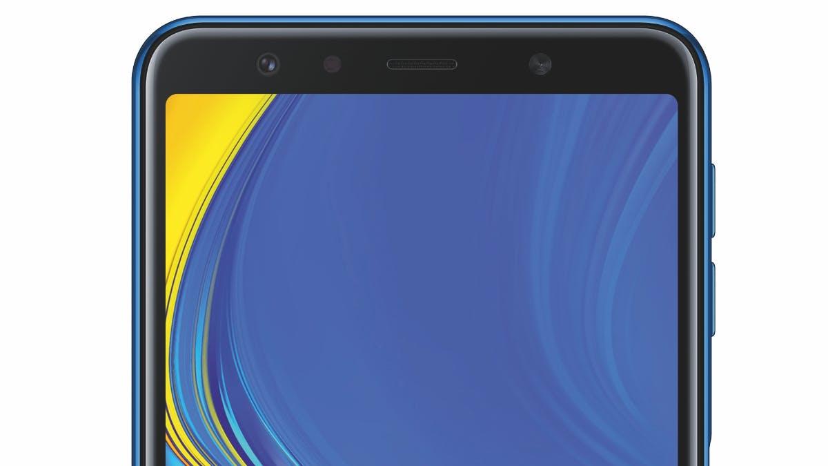 Samsungs Neues Galaxy A7 2018 Kommt Mit Triple Hauptkamera Und