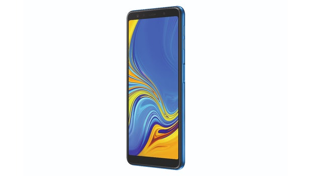 Samsung Galaxy A7 (2018). Bild: Samsung)