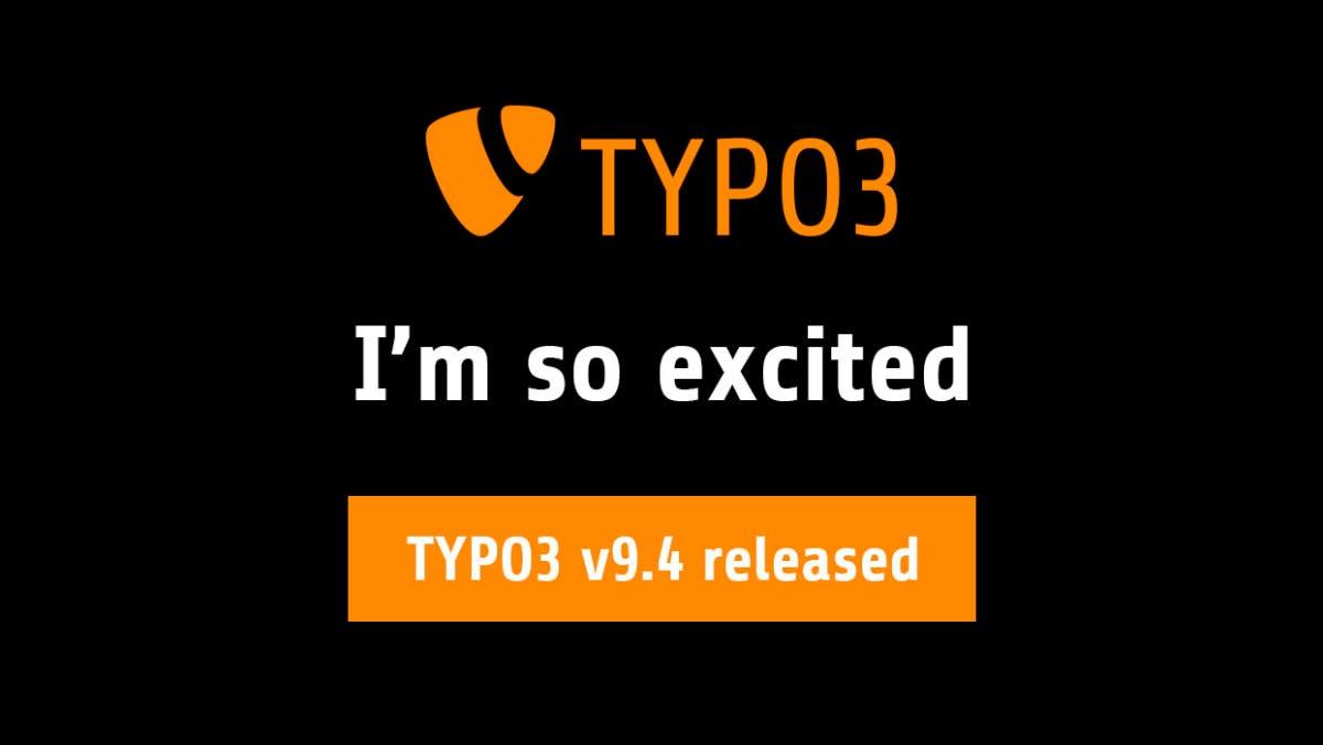 TYPO3 9.4 bringt sprechende URLs