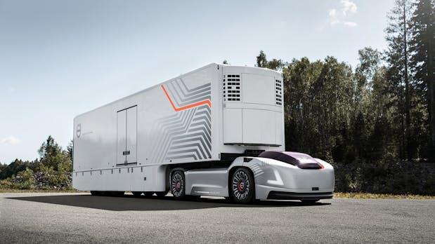 Volvo: Autonomer Elektro-LKW ohne Fahrerkabine vorgestellt