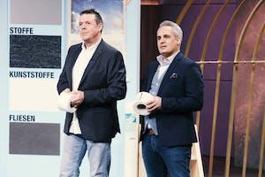 Mario Ballheimer (l.) und Fedi Choukair von Abdeckblitz (Foto: MG RTL D)