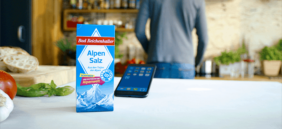 Food-Marketing mit Augmented Reality