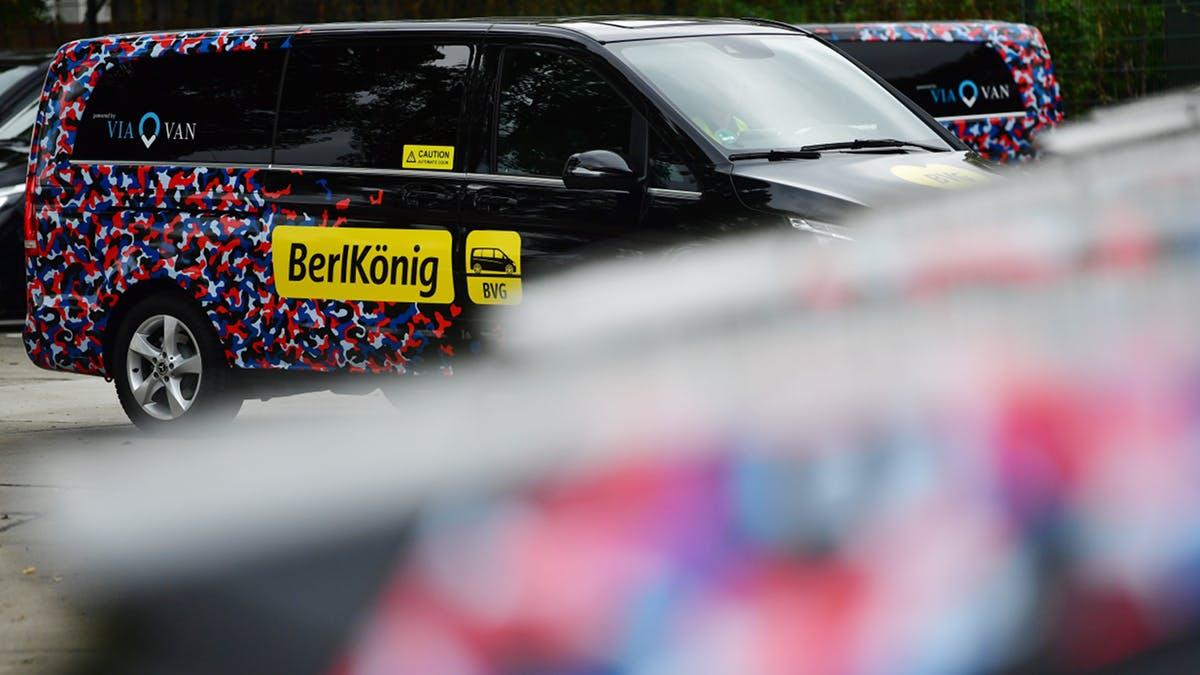 BVG weitet Ridesharing-Angebot Berlkönig aus