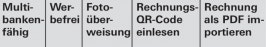 Ausgewählte bewertete Funktionen (Screenshot: Stiftung Warentest)