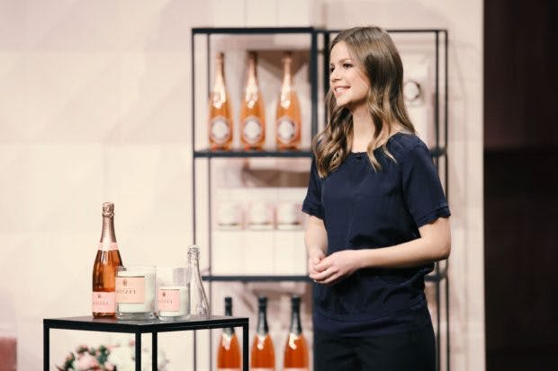 "Katharina Baumann mit ""Design Bubbles"" (Foto: Vox)"
