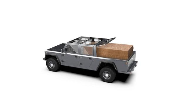 Elektro-Pickup Bollinger B2. (Bild: Bollinger Motors)
