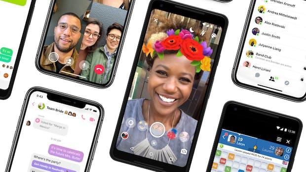 Messenger 4: Facebook bringt neue Features – Dark Mode ist vorgesehen