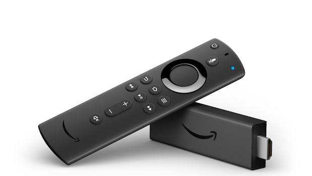 Amazon Fire TV Stick 4K mit Alexa-Sprachfernbedienung. (Bild: Amazon)