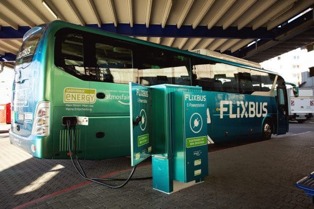 Flixbus E-Fernbus