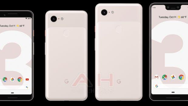 "Pressebild des Google Pixel 3 in ""Sand"". (Bild: Google, Android Headlines)"