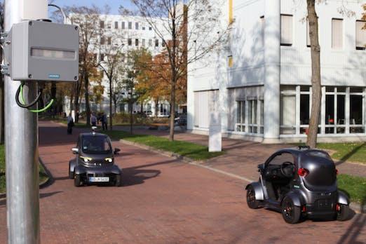 Intelligente Mobilität – Testgelände in München eröffnet: Siemens will das Autonomie-Level 5 erreichen
