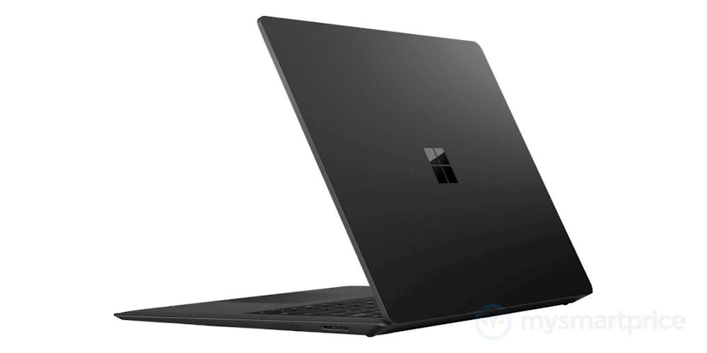 So soll das Surface Laptop in schwarz aussehen. (Bild: Mysmartprice