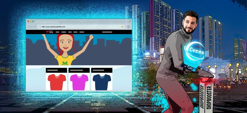 Onlineshops profitieren von kurzen Ladezeiten.