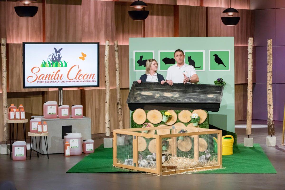 Sandra und Sven Arnold von Sanilu Clean (Foto: MG RTL D)