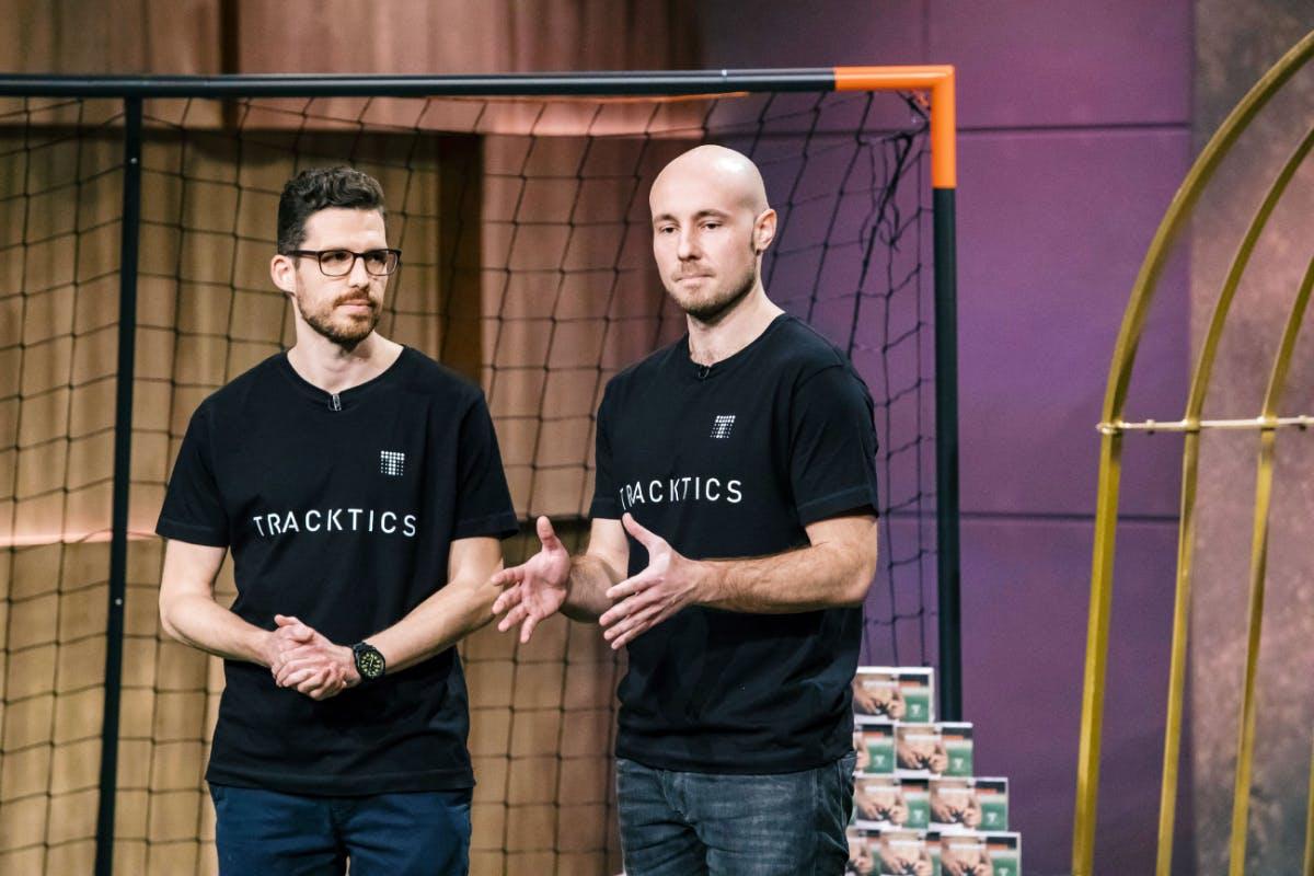 Patrick Haas (l.) und Benjamin Bruder von Tracktics (Foto: MG RTL D)