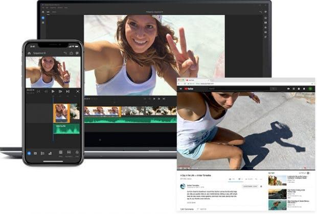 Premiere Rush CC ist eine Videobearbeitungswerkzeug für Youtuber. (Grafik: Adobe)