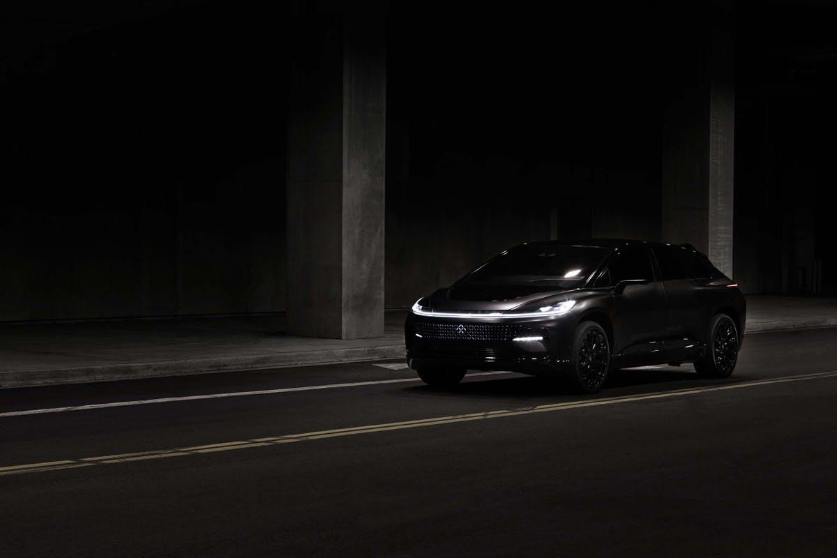 Elektro-SUV FF 91. (Bild: Faraday Future)
