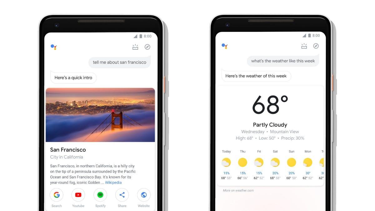 Google Assistant für Android-Smartphones mit Redesign