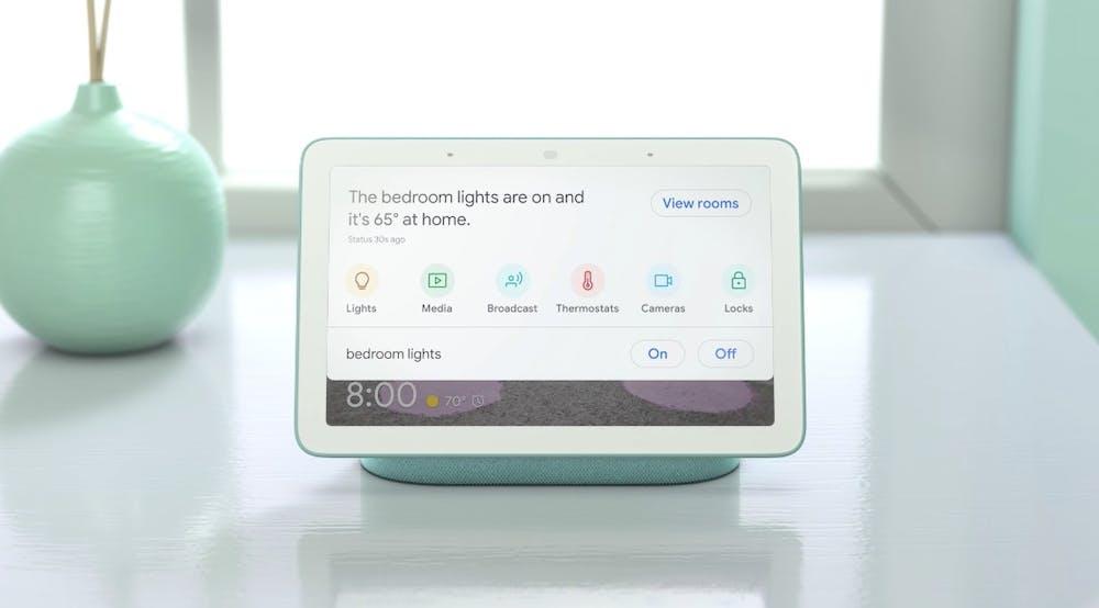 Aus Google Home Hub wird Nest Hub: Die Smarthome-Zentrale kommt ab Ende Mai nach Deutschland. (Bild: Google)