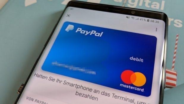 Google Pay unterstützt Paypal. (Foto: t3n.de)