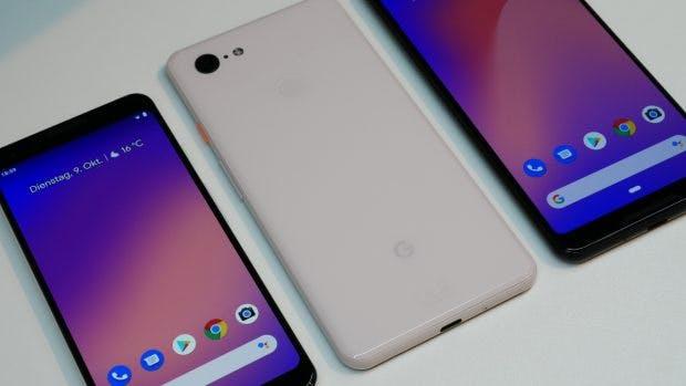 Pixel 3 neben dem Pixel 3 XL. (Foto: t3n.de)