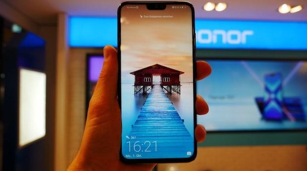 Smartphone von Honor für 250 Euro hat Display-to-Body-Ratio von 91 Prozent