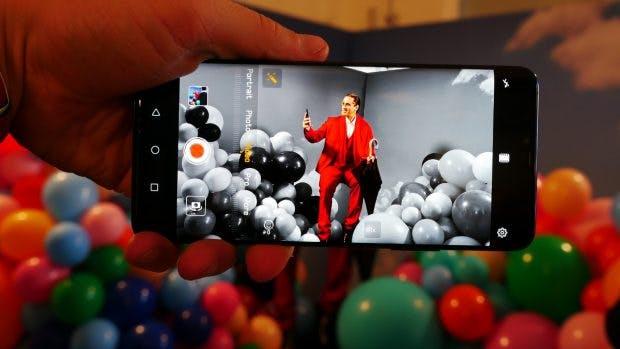 AI-Porträt-Modus auf dem Huawei Mate 20 Pro. (Foto: t3n.de)
