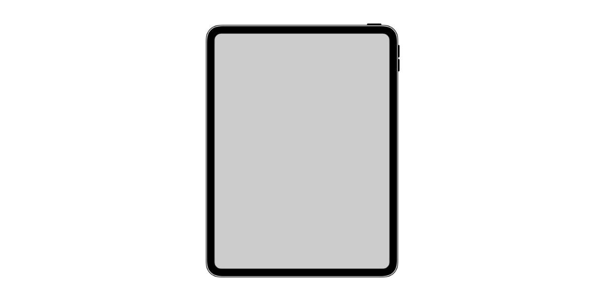 In iOS 12.1 ist das iPad Pro ohne Homebutton schon zu finden – als Icon. (Bild: 9to5Mac)