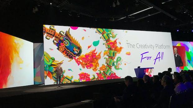 Adobe Max 2018: Creative Cloud mit mehr Tempo und Voice-Unterstützung
