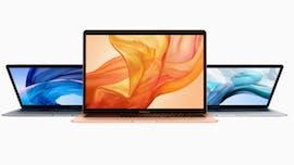 Das neue Macbook Air (2018). (Bild: Apple)